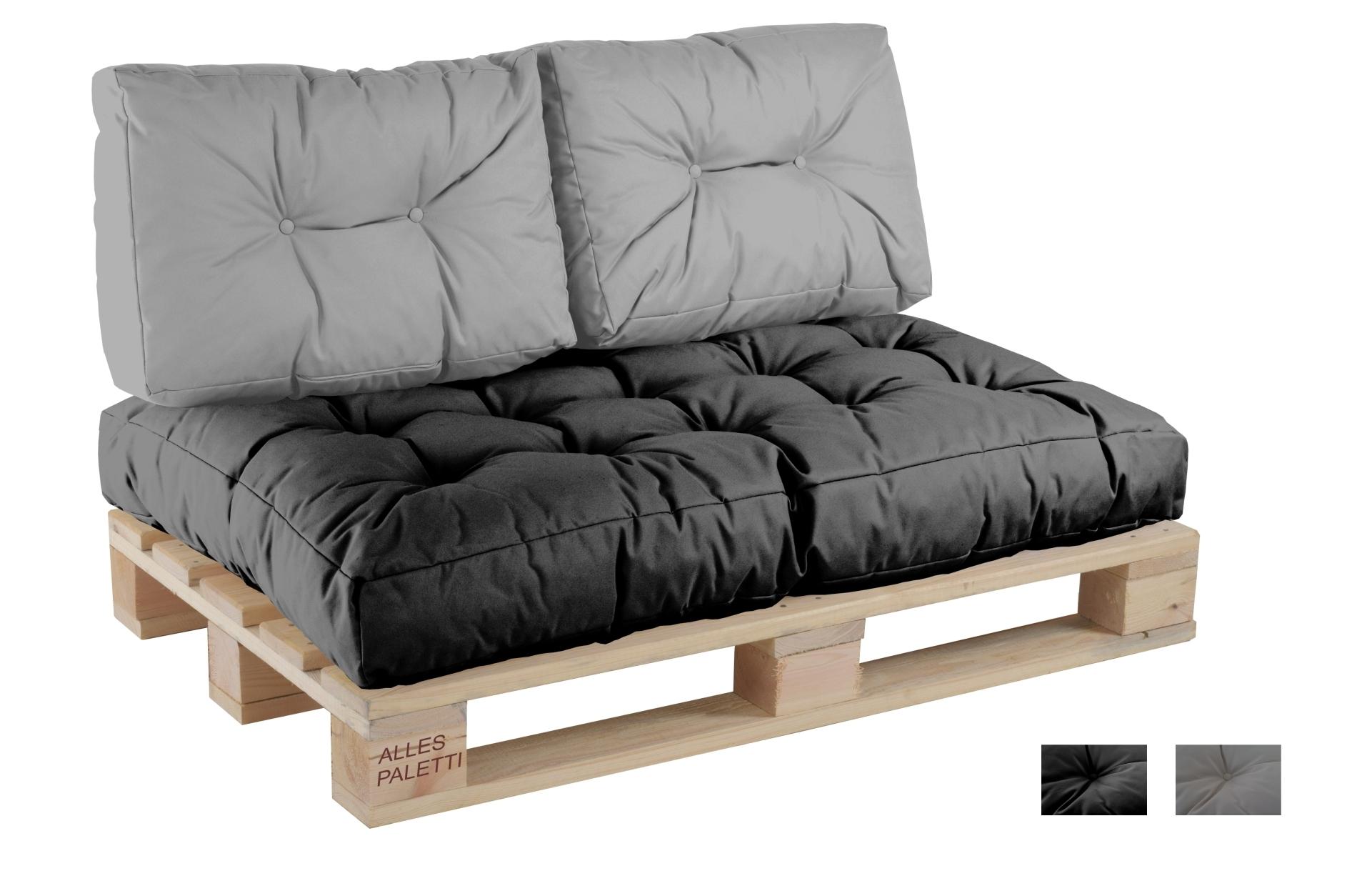 Matratzen sofa  Euro-Palettenkissen Indoor/Outdoor ALLESPALETTI - Vita-line